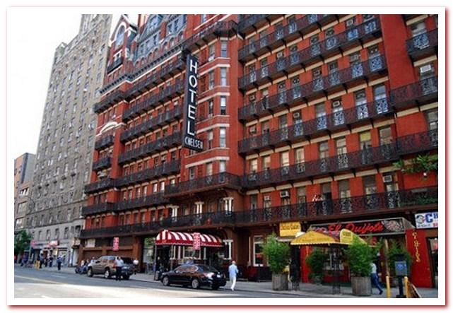 Район Челси Нью-Йорк. Chelsea Hotel
