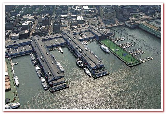 Район Челси Нью-Йорк. Chelsea Piers