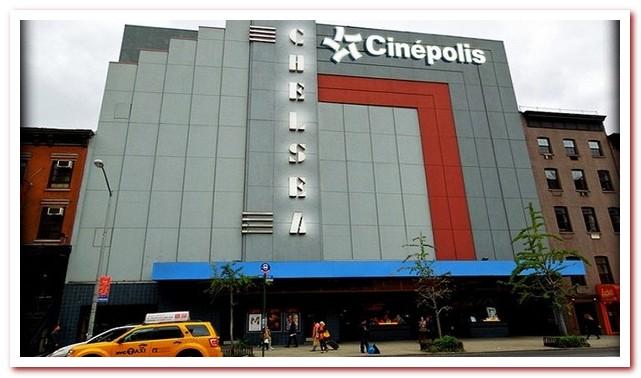 Район Челси Нью-Йорк. Cinépolis Chelsea