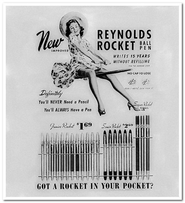 Шариковая ручка Reynolds Rocket