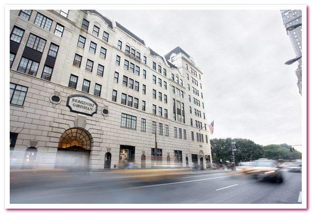 Универмаги Нью-Йорка. Bergdorf Goodman