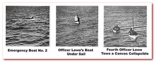 Выжившие на Титанике на спасательных шлюпках. Scribner's Magazine (март 1913 г.)
