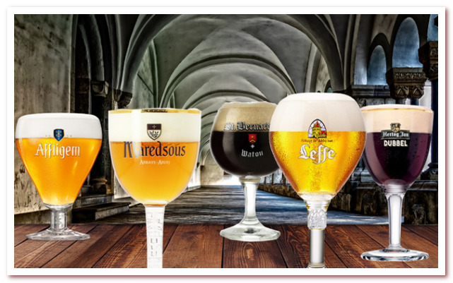 Аббатское бельгийское пиво