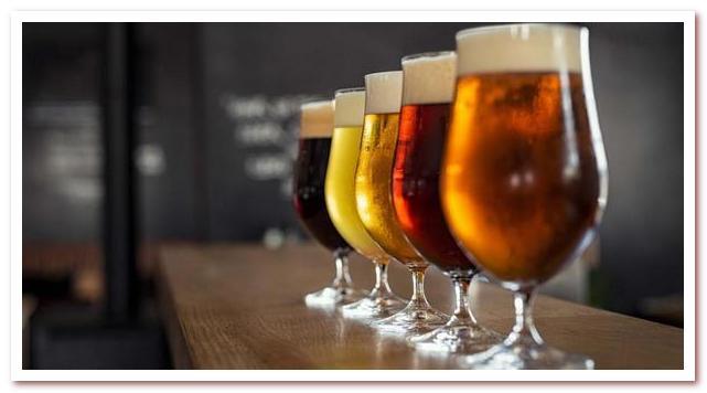 Бельгийское пиво богатство не только вкуса, но и цвета