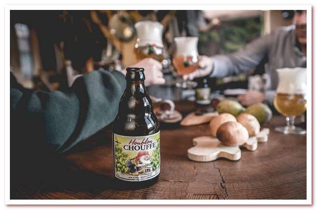 Бельгийское пиво с гномом