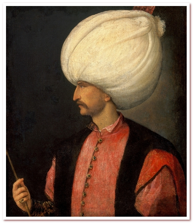 Голландские тюльпаны. Султан Сулейман Первый Кануни