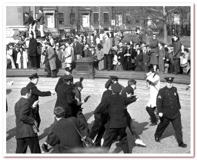 Гринвич-Виллидж. 9 апреля 1961