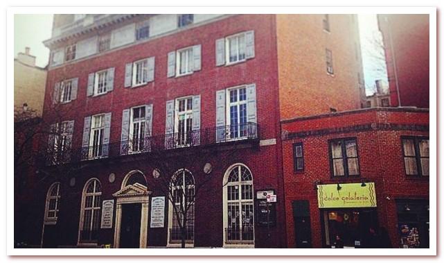 Гринвич-Виллидж. Barrow Street Theatre