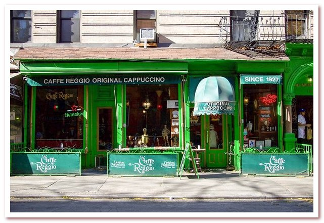 Гринвич-Виллидж. Caffe Reggio