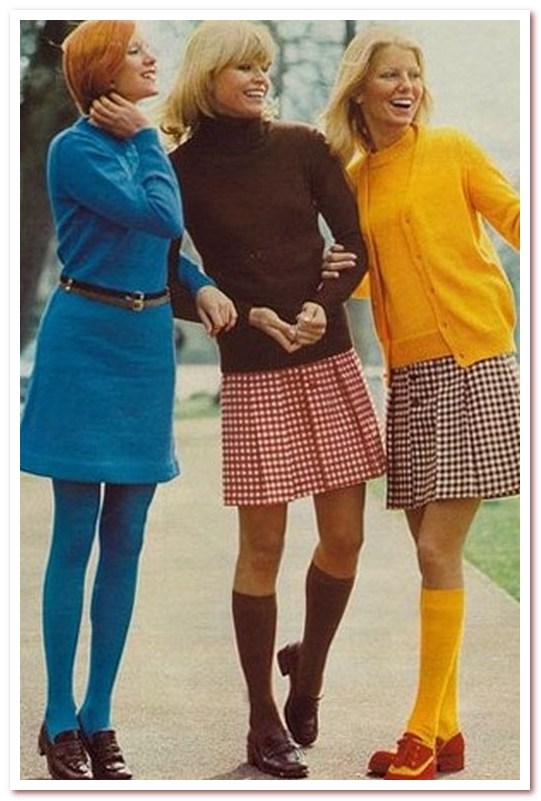 Мода 70-х. Гольфы
