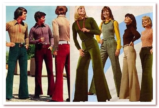 Мода 70-х. Клёш
