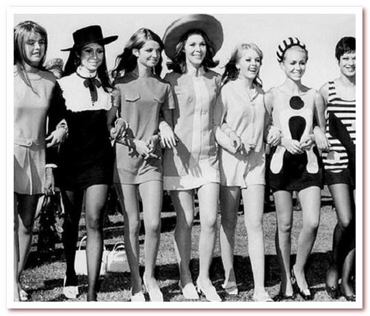 Мода 70-х. Мини