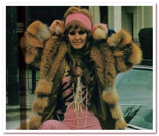 Мода 70-х. Натуральный мех