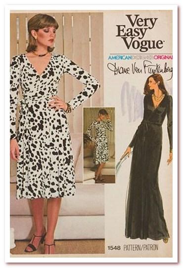 Мода 70-х. Платья с большим вырезом