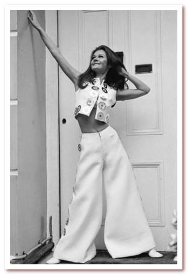 Мода 70-х. Супер широкие брюки