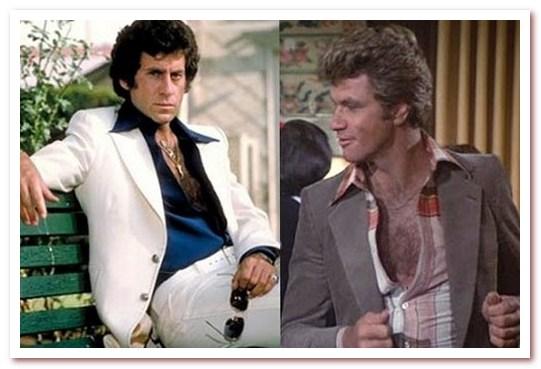 Мода 70-х. Волосатая грудь