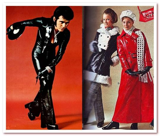 Мода 70-х. Винил