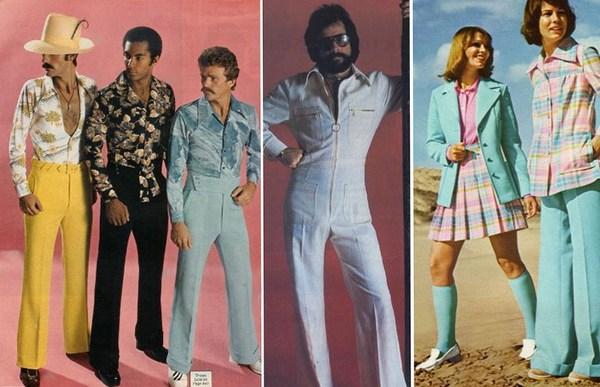 Мода 70-х.