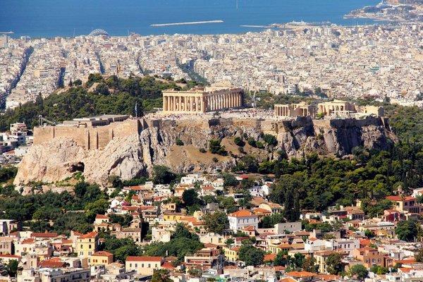 Афины история на каждом шагу
