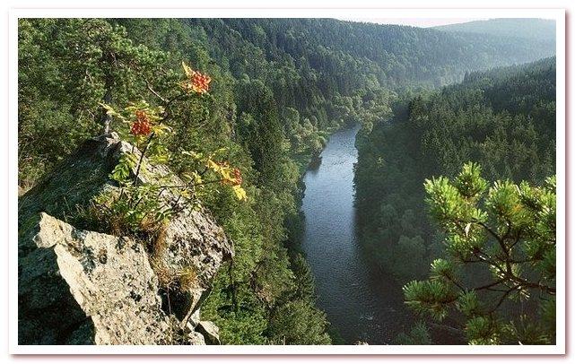 Достопримечательности Чехии. Блански лес