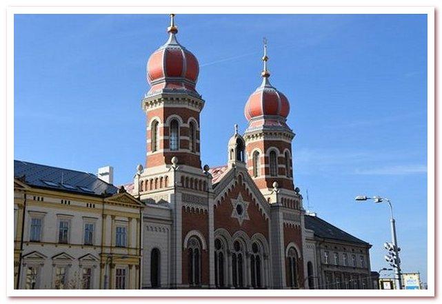 Достопримечательности Чехии. Большая синагога, Пльзень