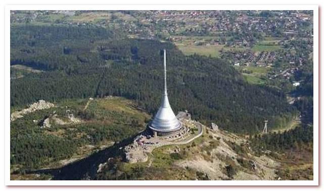 Достопримечательности Чехии. Гора Йештед