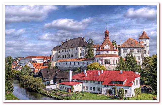 Достопримечательности Чехии. Йиндржихув-Градец