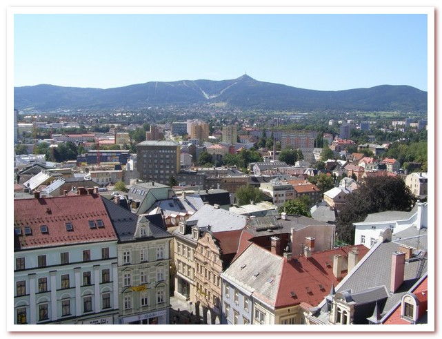Достопримечательности Чехии. Либерец