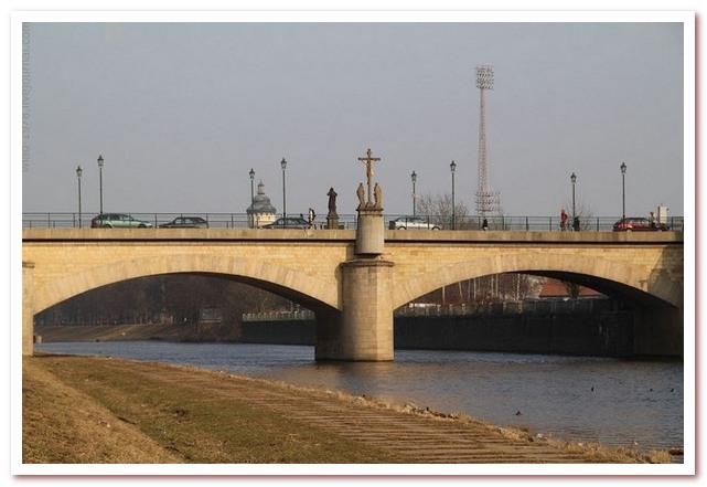 Достопримечательности Чехии. Мост Рузвельта, Пльзень