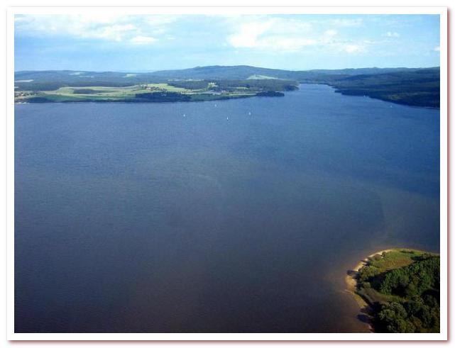 Достопримечательности Чехии. Озеро Липно