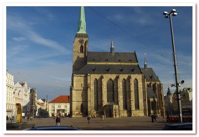 Достопримечательности Чехии. Собор Св. Варфоломея в Пльзене