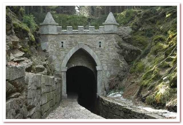 Достопримечательности Чехии. Туннель Шварценбергского судоходного канала