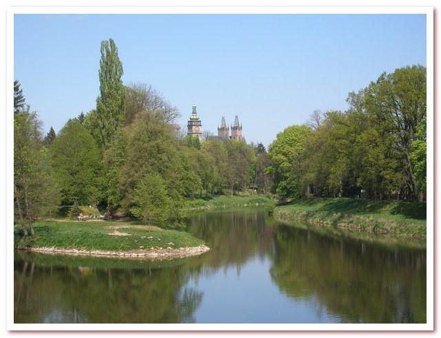 Достопримечательности Чехии. Устье реки Орлице