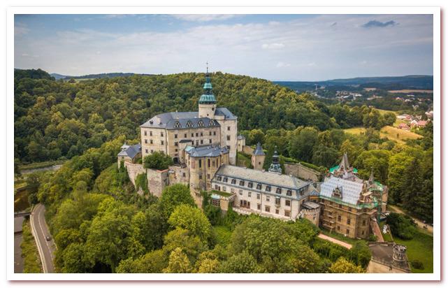 Достопримечательности Чехии. Замок Фридлант