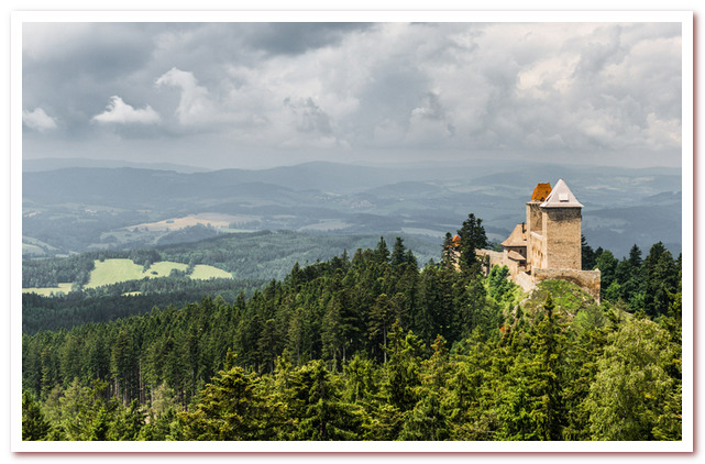 Достопримечательности Чехии. Замок Кашперк