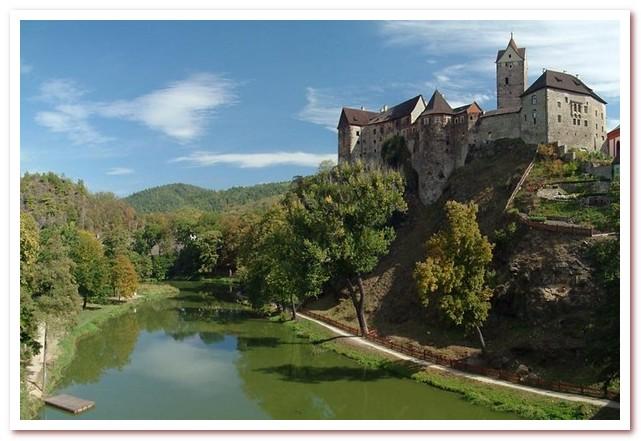 Достопримечательности Чехии. Замок Локет