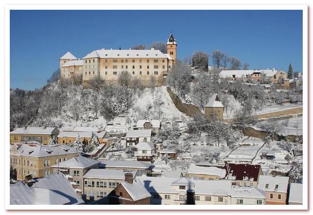 Достопримечательности Чехии. Замок Вимперк