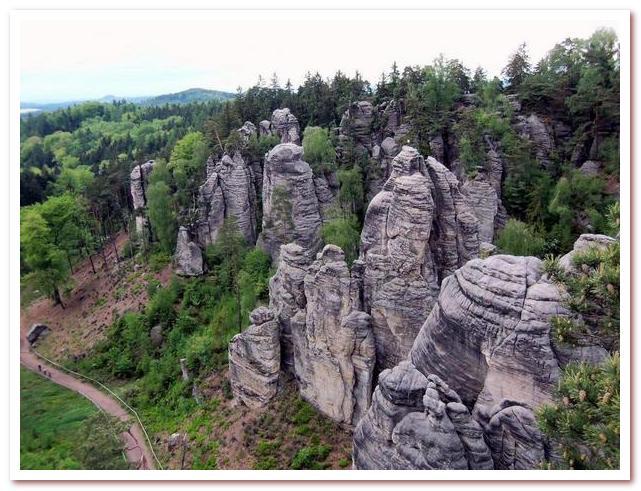 Достопримечательности Чехии. Заповедник Чешский рай