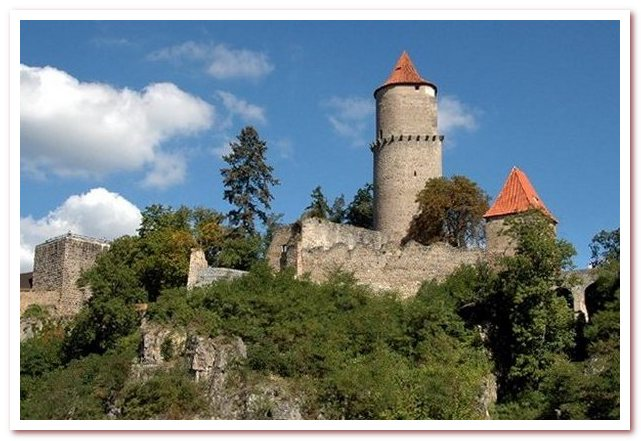 Достопримечательности Чехии. Звиков - король чешских замков