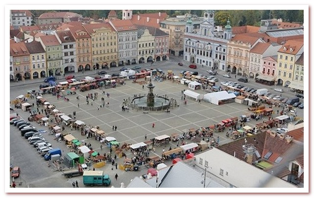 Достопримечательности Чехии. Ческе-Будеёвице