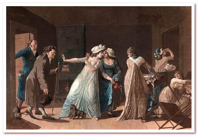 Кофе был запрещен в Швеции несколько раз постановлением об изобилии. На иллюстрации 1799 года изображены пойманные кофейные грешники.
