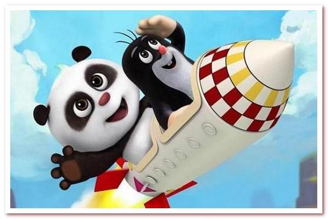 Крот и Панда