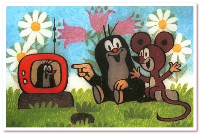 Krtek чешский мультфильм про крота