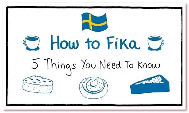Культура кофе в Скандинавии. 5 золотых правил Fika
