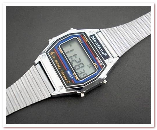 Мода 80-х. Часы с мелодиями