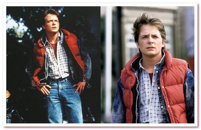 Мода 80-х. Пуховый жилет