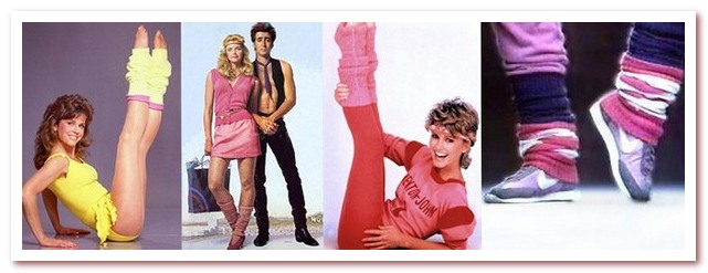 Мода 80-х. Спортивные гетры