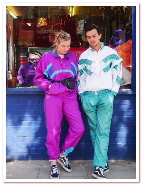 Мода 80-х. Спортивный костюм