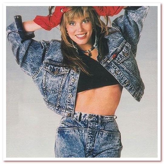 Мода 80-х. Вареные джинсы