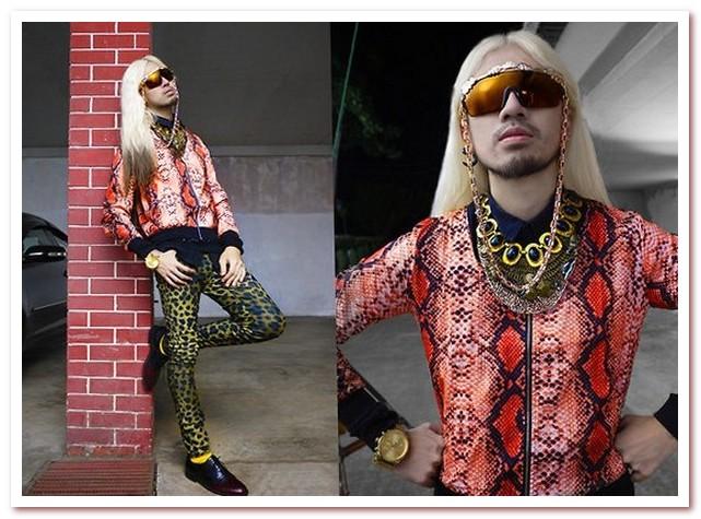 Мода 80-х. Животные принты